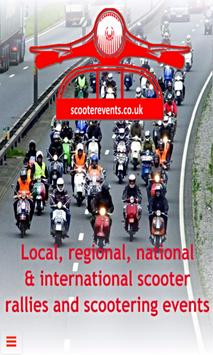 Scooter Events UK poster