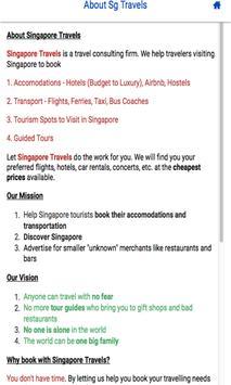 Singapore Travels screenshot 1