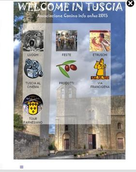 Welcome in Tuscia poster
