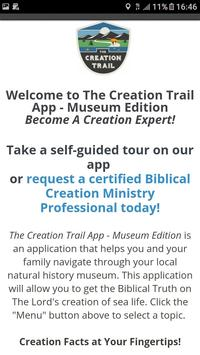 The Creation Trail apk screenshot