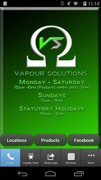 Vapour Solutions App poster