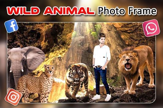 Wild Animal Photo Editor : Animal Frame, Sticker screenshot 4