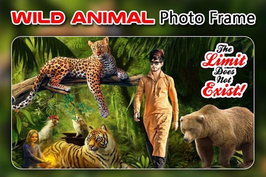 Wild Animal Photo Editor : Animal Frame, Sticker screenshot 3