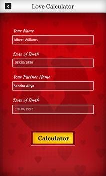 True Love & Death Calculator screenshot 1