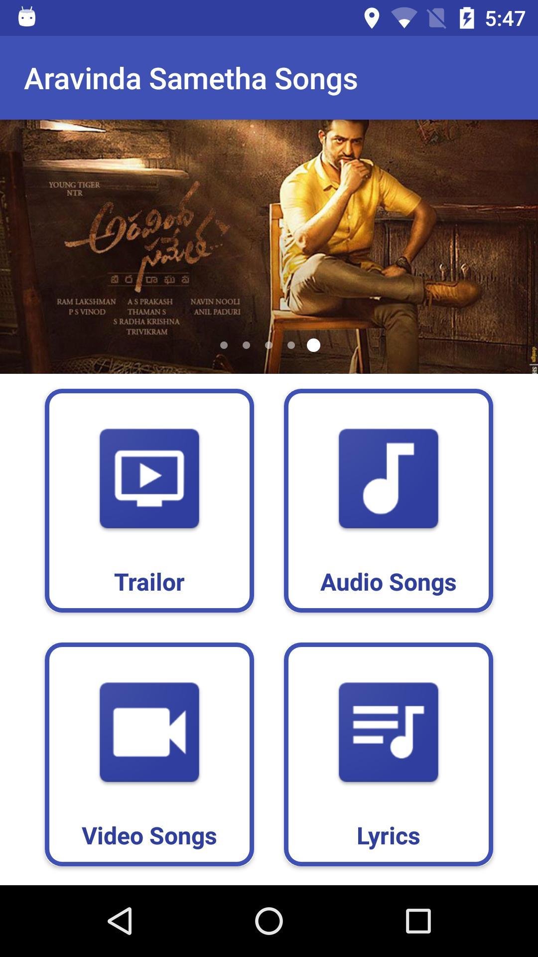 aravinda sametha lyrical video songs free download