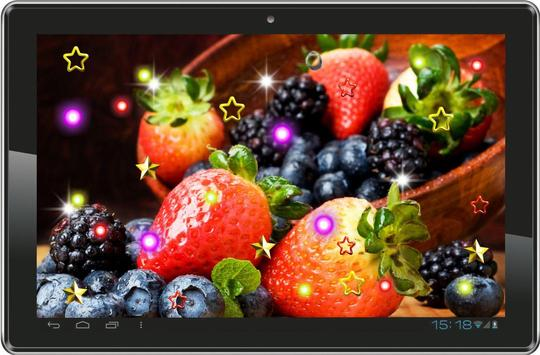 Fruits n Chocolate HD LWP poster