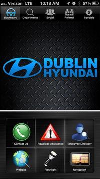 Dublin Hyundai poster