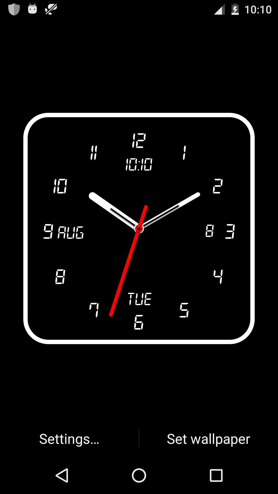 Android 用の 時計ライブ壁紙 Apk をダウンロード