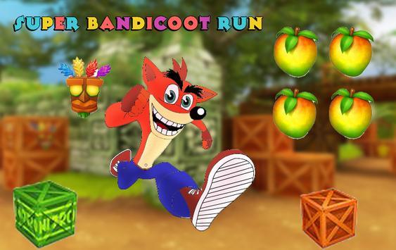 Super Bandicoot Run poster