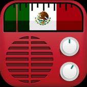 Radio México FM Estaciones Gratis icon