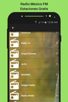 Radio México FM Estaciones Gratis screenshot 3