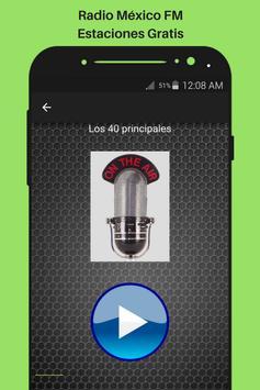 Radio México FM Estaciones Gratis screenshot 4