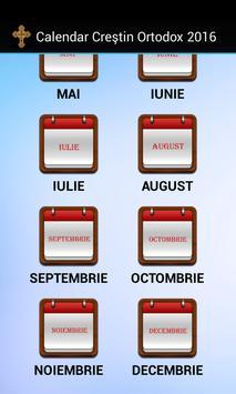 Calendar Creştin Ortodox 2016 apk screenshot