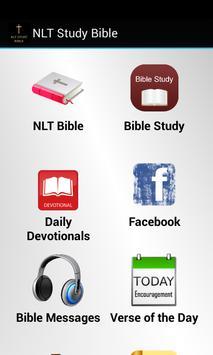 NLT Study Bible poster