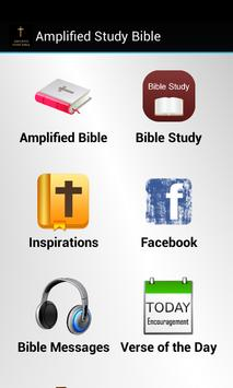 Amplified Study Bible poster
