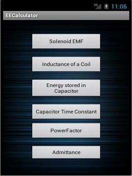 EE Calculator screenshot 1