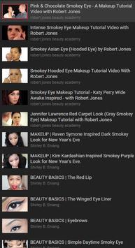 Eyes Makeup Video Tutorial poster