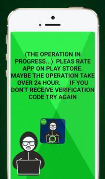 Hack whatsapp Prank screenshot 6