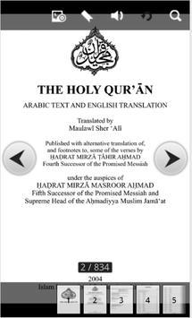 The Holy Koran in ENG-ARAB poster