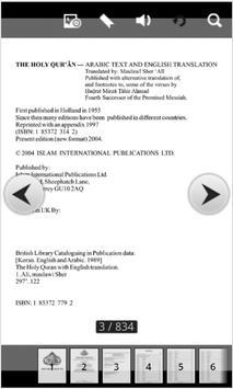The Holy Koran in ENG-ARAB apk screenshot
