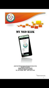 My NGO Klik poster