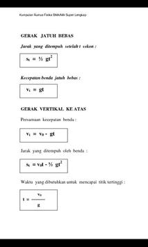 Rumus FisikaKu (SMA/SMU) screenshot 1