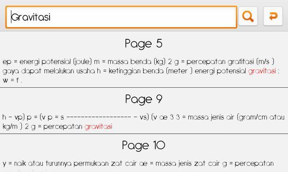 Rumus FisikaKu (SMA/SMU) screenshot 7
