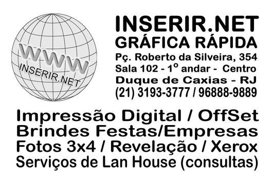 INSERIR.NET - Gráfica Rápida poster
