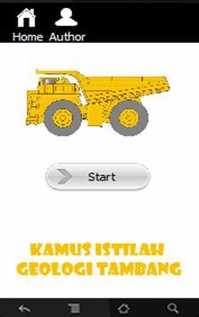 Kamus Geologi Tambang poster