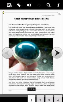 Cara Proses Batu Bacan apk screenshot