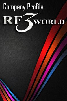 RF3World Company Profile poster