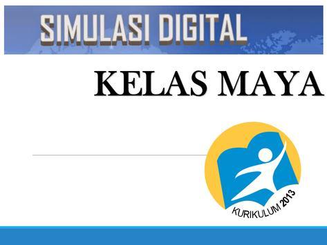 BUKU KELAS MAYA poster