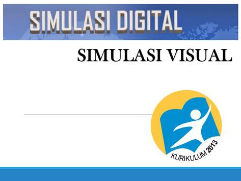BUKU SIMULASI VISUAL poster