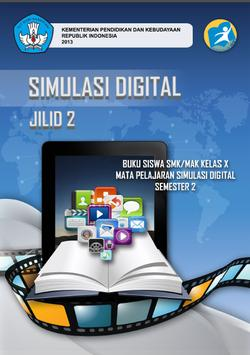 Buku Simulasi Digital 2 poster