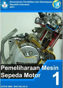 Pemelihraan Mesin Sepeda Motor poster
