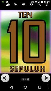 Learn Indonesian : Numbers apk screenshot