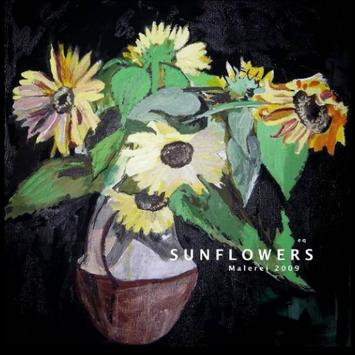 eq-Paintings.net SUNFLOWERS poster