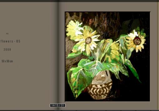 eq-Paintings.net SUNFLOWERS screenshot 1