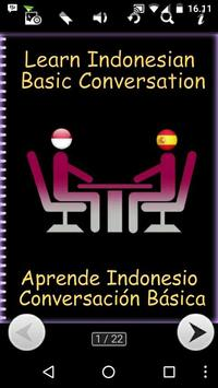 Learn Indonesian Spanish poster