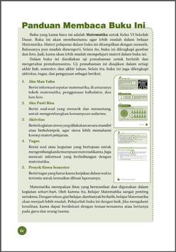 Belajar Matematika (6 SD) apk screenshot