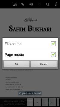 Hadith Sahih Bukhari - English apk screenshot