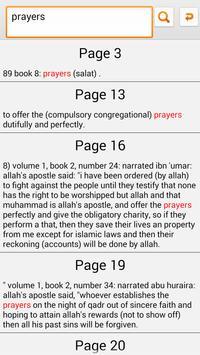 Hadith Sahih Bukhari - English screenshot 3