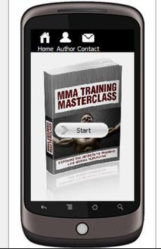 MMA Training Masterclass poster