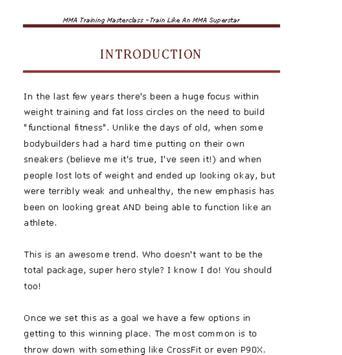 MMA Training Masterclass apk screenshot
