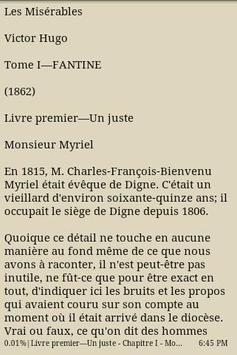 Les misérables Tome I/Fantine poster