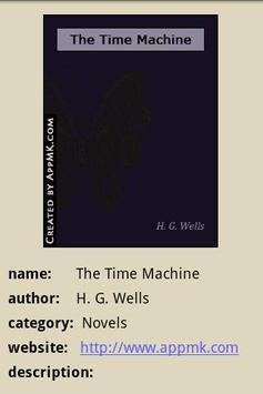 The Time Machine (Book) apk screenshot