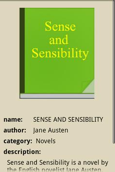 SENSE AND SENSIBILITY screenshot 1