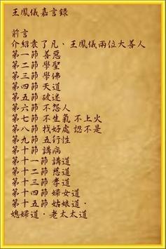 王鳳儀嘉言錄 poster
