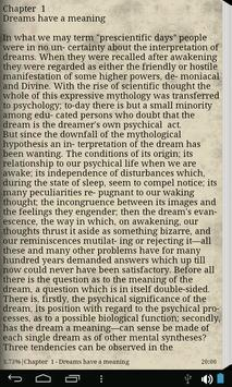 Dream Psychology - eBook apk screenshot