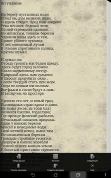 Медный всадник А. С. Пушкин screenshot 2